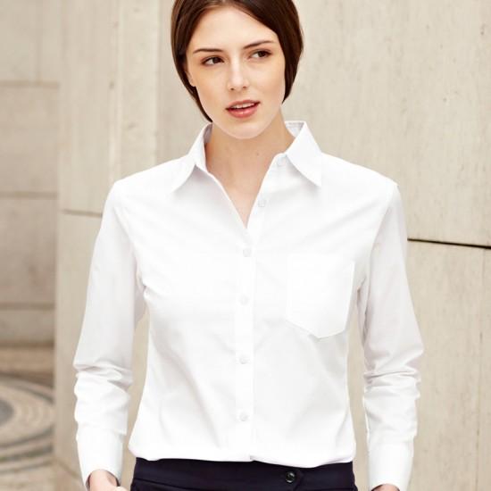 Елегантна официална дамска риза Poplin