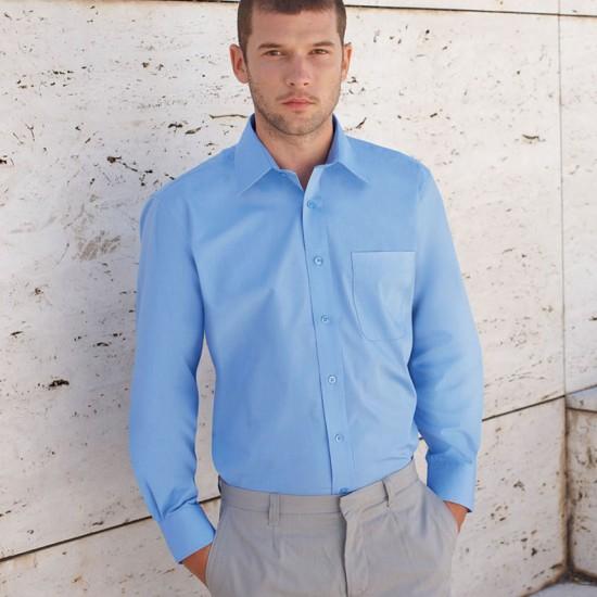 Елегантна официална мъжка риза Poplin