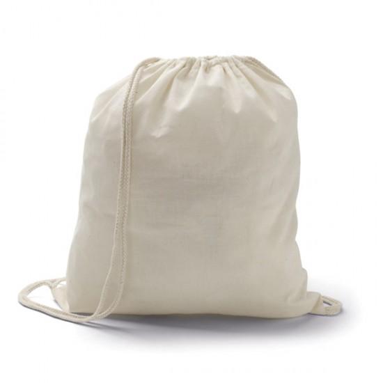 Памучна раница с въжени презрамки