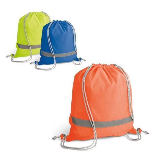 Рекламна чанта с шнур и светлоотразителна лента