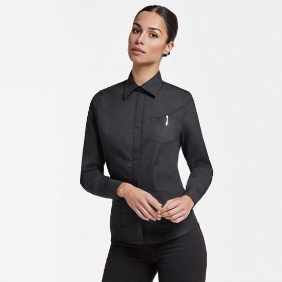 Елегантна официална дамска риза с дълъг ръкав Sofia