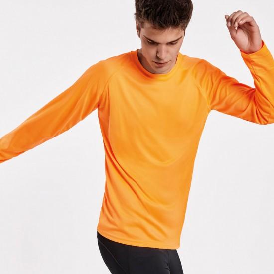 Мъжка спортна тениска с дълъг Roly Montecarlo