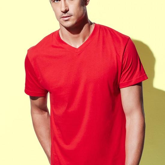 Мъжка тениска с V деколте Stedman 2300