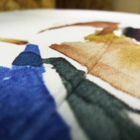 Директен печат върху светъл текстил