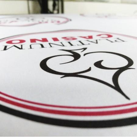 Сублимационен печат върху парче плат за пришивка